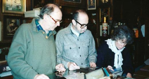 Tom Dawson, Lenny Schnier and Judy Dawson